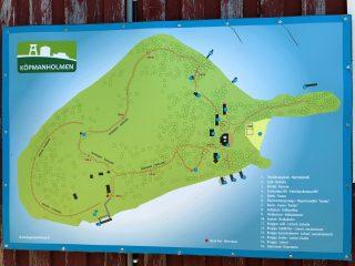 Köpmanholmen on suosittu matkustuskohde Larsmon kunnassa. Köpmanholmenin kartasta näkee tarkemmin, mitä saarella on.