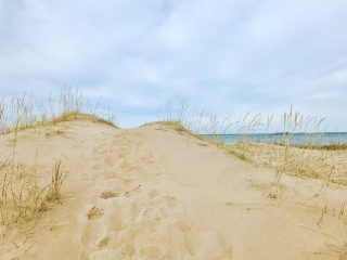 Vattajalla on upeita hiekkadyynejä.