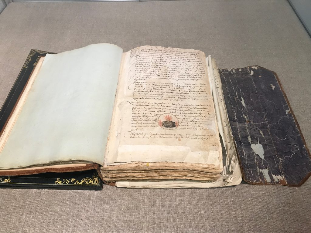 Kokkolan perustamisasiakirja vuodelta 1620.