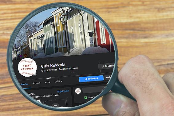 Visit Kokkola löytyy myäs eri somekanavilta mm. Facebook, Instagram, Youtube ja Twitter