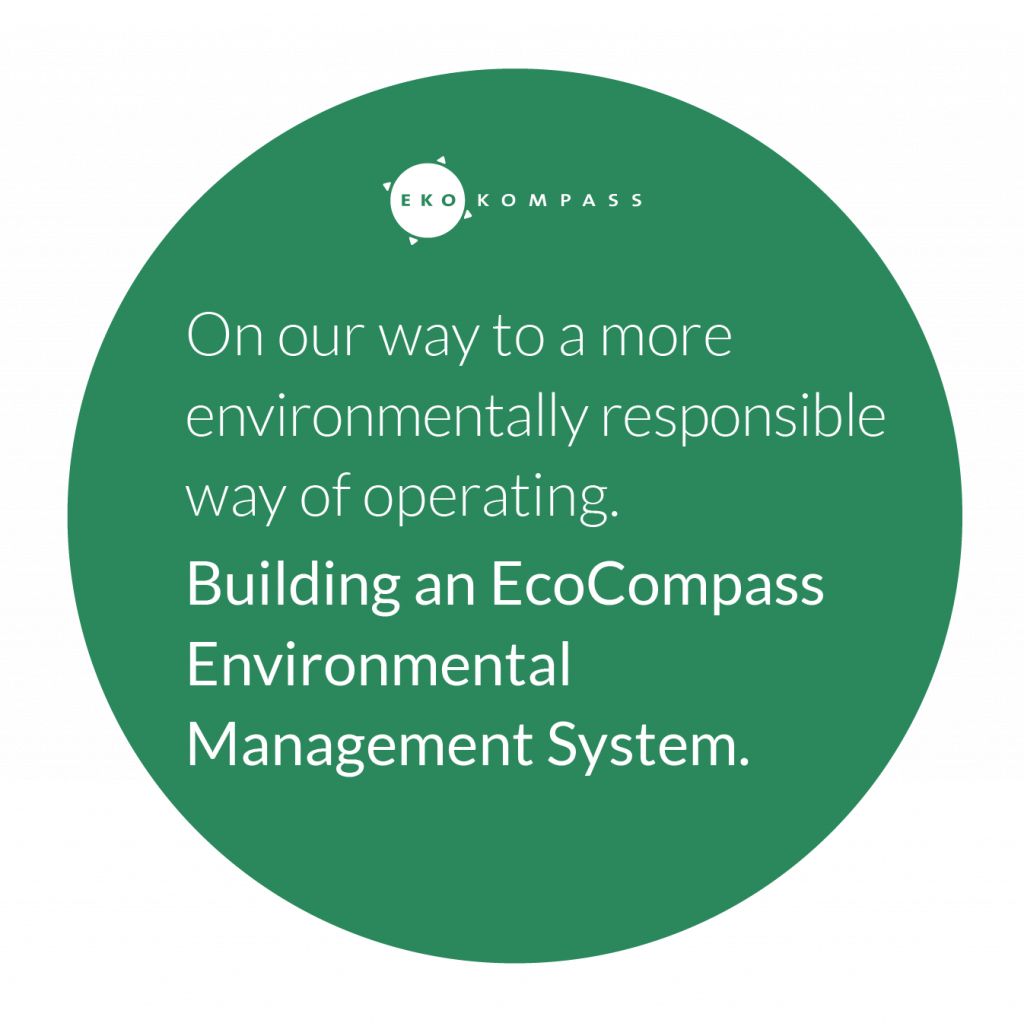 Visit Kokkola is building an EcoCompass Environmental Management System.