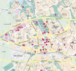 Kokkola Map