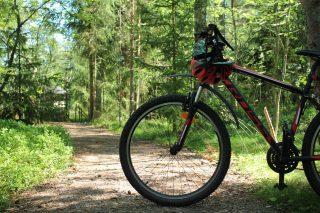 Maastopyörä polulla